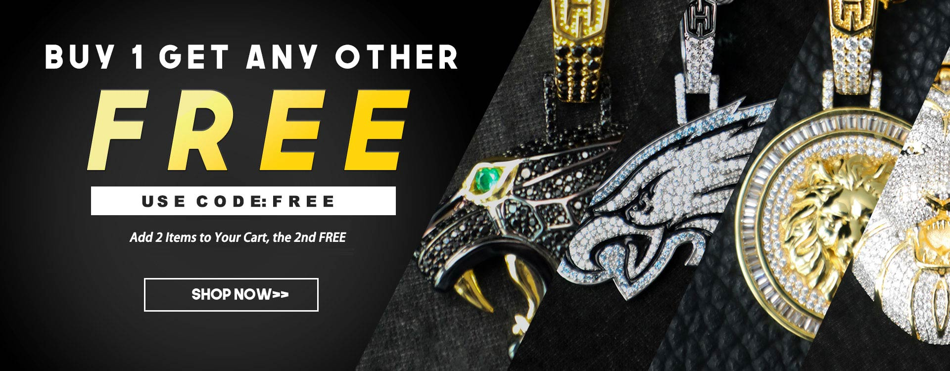 BUY ONE GET ANY OTHER FREE