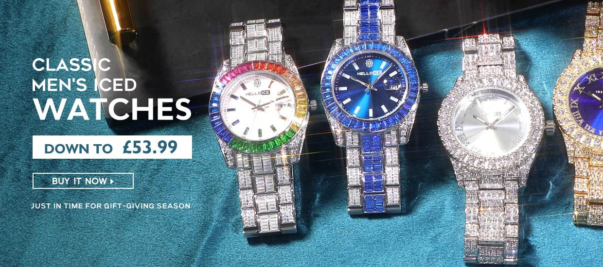 ICED WATCHES